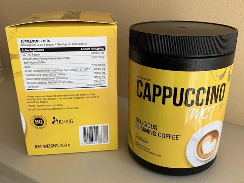 Skład Cappuccino MCT